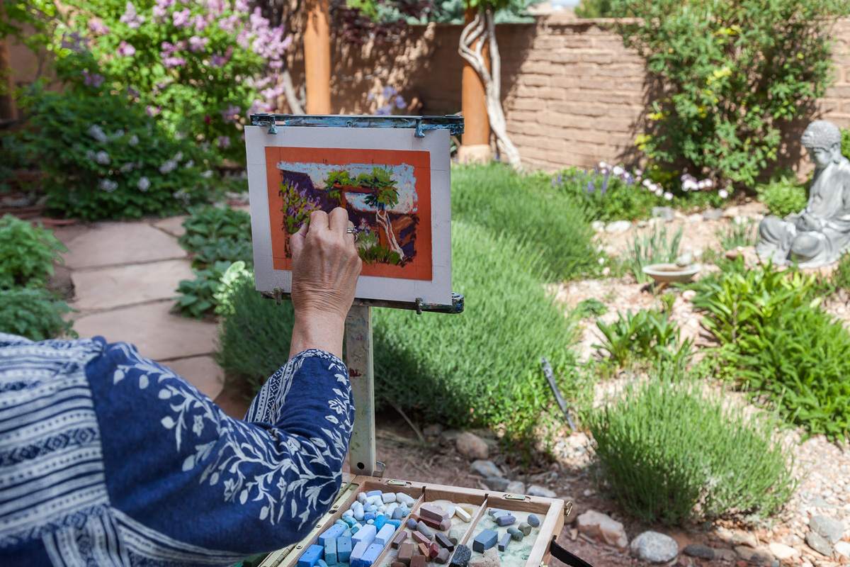 Exceptional Artists Painting The Gardens