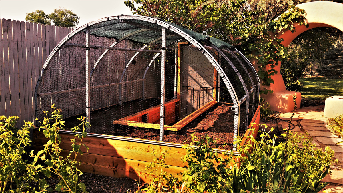 Greenhouse Building | Placitas Garden Tour