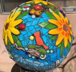Gayle Elaine Scott garden ball 741x708